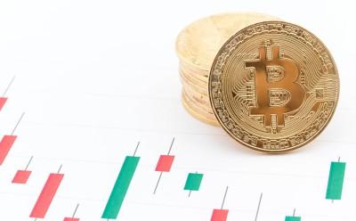 仮想通貨のチャートの画像